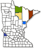 minnesota map of participating counties